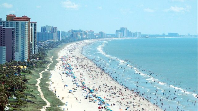 Myrtle Beach, South Carolina, Sanibel Florida, Best East Coast Beaches, best beaches, South Carolina Beaches, Beach Travel Destinations