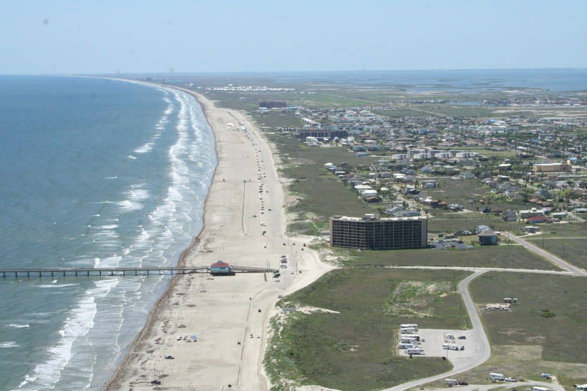 Texas beaches beach travel destinations for Port a texas