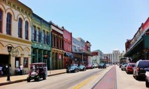 The Strand, Galveston Texas, Galveston Texas Travel Guide, Galveston beaches, Texas Beaches