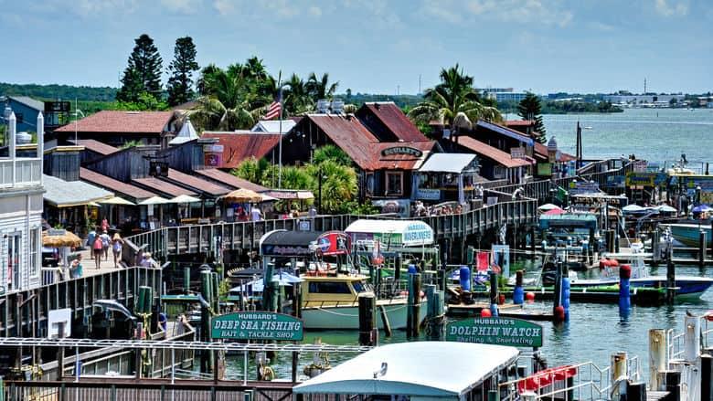 John S P Village And Boardwalk St Pete Beach Florida