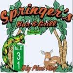 Springer's Bar & Grill, Big Pine Key Florida Keys, Florida Keys beaches, Big Pine Key vacations, Florida Beaches