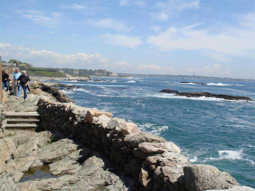 Newport Rhode Island Cliff Walk, Valentines Day Vacations