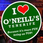 O'Neill's Tenerife Canary Islands, Tenerife Vacation Guide