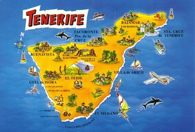 Tenerife Vacation Guide Beach Travel Destinations