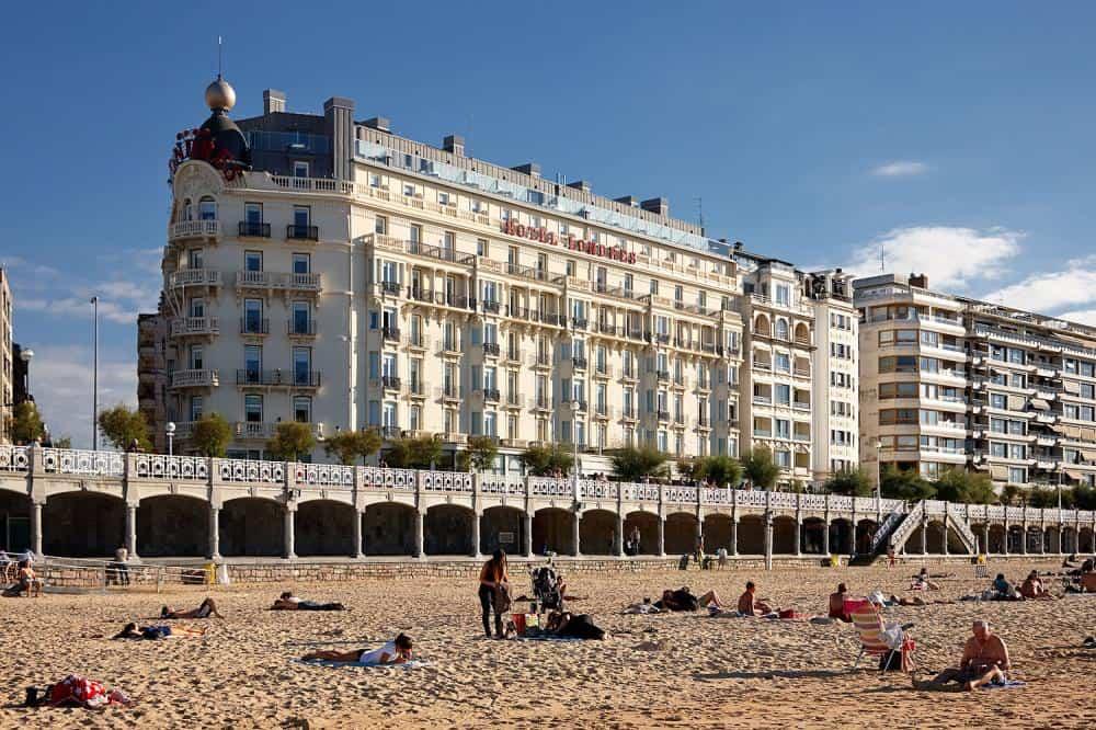 Hotel de Londres y de Inglaterra, San Sebastian Spain, Valentines Day Vacations