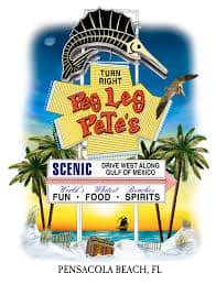 Peg Leg Pete's Oyster Bar Pensacola Beaches Florida, best beaches of the Emerald Coast, Florida Beaches, Pensacola beaches
