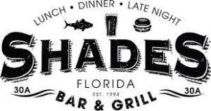 Shades Bar & Grill, Panama City Beach Florida, Emerald Coast beaches