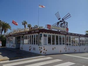 Windmill Bar Calete de Fuste Fuerteventura Canary Islands, best beaches of the Canary Islands, Fuerteventura beaches