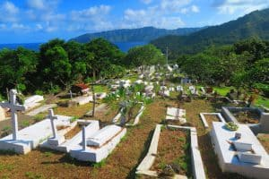 The Calvary Cemetary Hiva Oa Marquesas Islands French Polynesia, Marquesas Islands Things to do, best beaches of French Polynesia, Marquesas Islands beaches, best beaches in the Caribbean, Caribbean beaches, French Polynesia beaches.