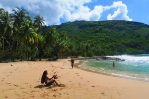 Hanatekuua Beach Hiva Oa Marquesas Islands French Polynesia, Marquesas Islands Things to do, best beaches of French Polynesia, Marquesas Islands beaches, best beaches in the Caribbean, Caribbean beaches, French Polynesia beaches.