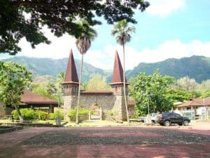 Notre Dame Cathedral Nuku Hiva Marquesas Islands French Polynesia, Marquesas Islands Things to do, best beaches of French Polynesia, Marquesas Islands beaches, best beaches in the Caribbean, Caribbean beaches, French Polynesia beaches.