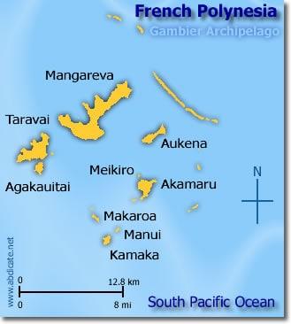 French Polynesia, Gambier Archipelago, Gambier Islands, Mangareva, Aukena, Taravai, Akamaru Island, Angakauitai, Manui, Tekava, Tepapuri, Tauna, best beaches of French Polynesia, French Polynesia beaches