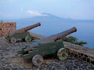 Fort de Windt, St Eustatius, Leeward Islands, Lesser Antilles, things to do in St Eustatius, St Eustatius beaches, Statia
