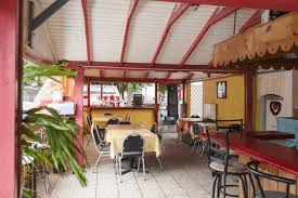 Franky's Bar & Restaurant,  St Eustatius, Leeward Islands, Lesser Antilles, bars & restaurants in St Eustatius, St Eustatius beaches, Statia