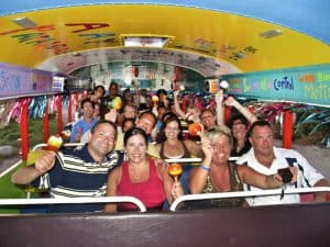 Kukoo Kunuku Party Bus, bars & nightlife in Aruba, Aruba, Leeward Antilles, Lesser Antilles, best beaches of Aruba, Aruba beaches, best beaches of the Caribbean, Aruba Travel Guide