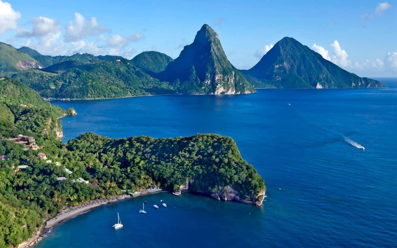 St Lucia Beaches Beach Travel Destinations