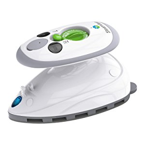 Steamfast SF-717 Home-and-Away Mini Steam Iron , travel mini steam iron, best gifts for the frequent traveler, gifts for the frequent traveler, holiday gift ideas for the frequent traveler, traveler gift ideas.