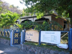 Blue Bead Bar & Restaurant,  St Eustatius, Leeward Islands, Lesser Antilles, bars & restaurants in St Eustatius, St Eustatius beaches, Statia