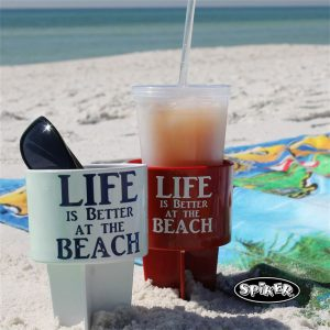 beverage coolies & holders, beach travel gear, beach vacation essentials, beach travel