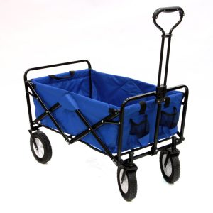 Mac Sports Collapsible Folding Outdoor Utility Wagon, Best Beach Cart Wagon, beach gear