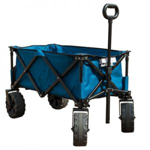 Timber Ridge Folding Wagon, beach gear, best beach cart wagon