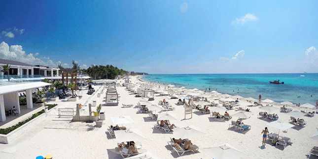 Calle 10 Beach, Playa del Carmen Mexico, Yukatan Peninsula beaches, best Yukatan Peninsula beaches