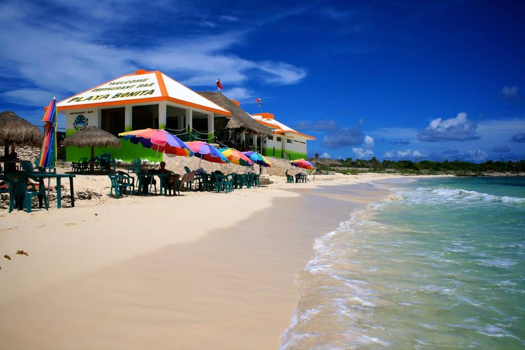 Playa Bonito Cozumel Mexico, Yukatan Peninsula beaches, best Yukatan Peninsula beaches