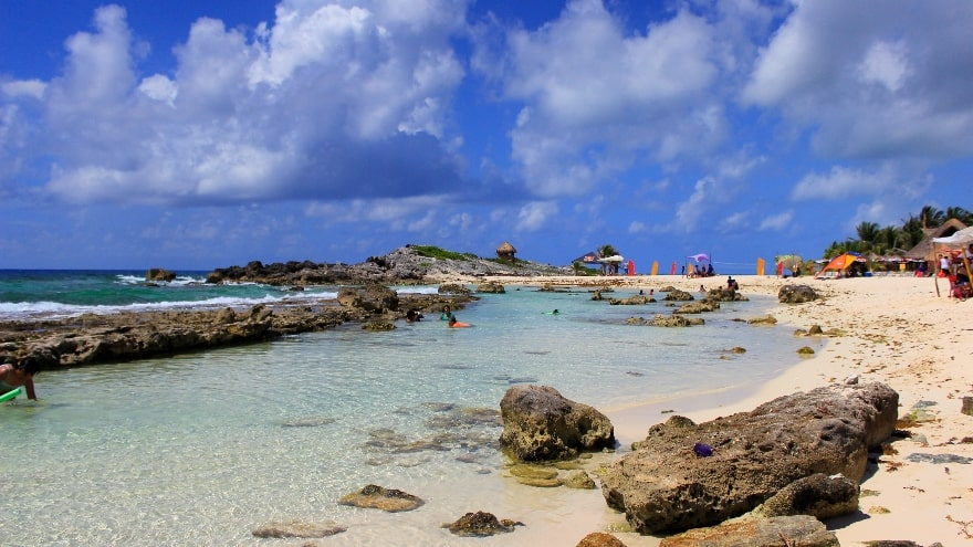 Playa Chen Rio, Cozumel Mexico, Yukatan Peninsula beaches, best Yukatan Peninsula beaches