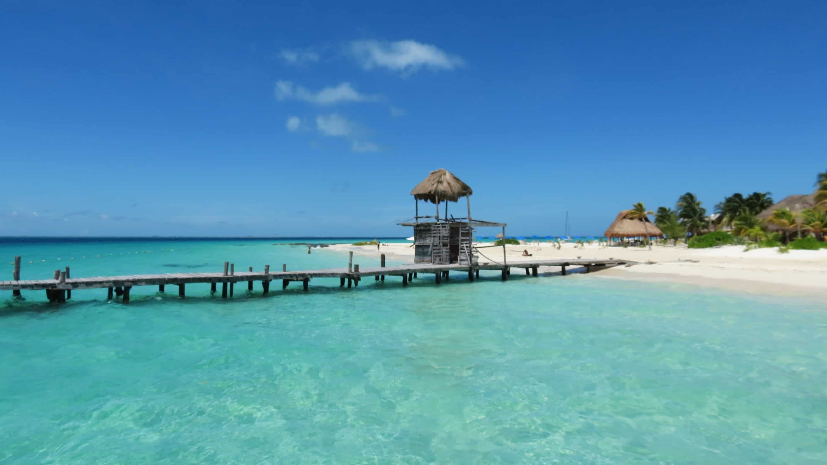 Playa Norte Isla Mujeres Mexico, Yukatan Peninsula beaches, best Yukatan Peninsula beaches