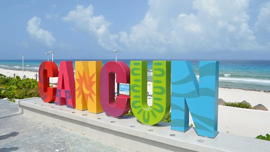 Playa Delfines, Cancun Mexico, Yukatan Peninsula beaches, best Yukatan Peninsula beaches