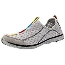 Aleader Men's Mesh Slip on Water Shoes, personal watercraft water sports, jet skis, water sports on the beach, personal watercraft accessories, beach accessories