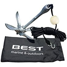 BEST Kayak Anchor Accessories for Canoe, Jet Ski, SUP, Paddle Board & Small Boat, personal watercraft water sports, jet skis, water sports on the beach, personal watercraft accessories, beach accessories