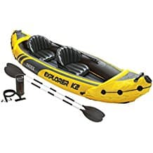 Intex Explorer K2 Kaya 2-Person Inflatable Kayak, ocean kayaks, beach water sports, kayaking at the beach, kayak accessories, inflatable kayaks, hardshell kayaks