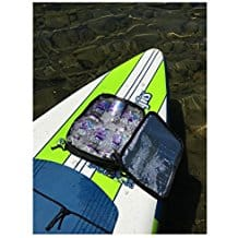 Paddle board Cooler & Mesh Bag, SUP paddleboarding, SUP paddle boarding, stand up paddle boarding, inflatable SUP paddle boards, hard SUP paddle boards, best water sports for the beach, beach vacation