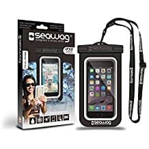 SEAWAG Universal Waterproof Case for Smartphone, personal watercraft water sports, jet skis, water sports on the beach, personal watercraft accessories, beach accessories