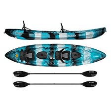 Vibe Kayaks Skipjack 12OT 12' Tandem Sit on Top Kayak 2 or 3 Person, ocean kayaks, beach water sports, kayaking at the beach, kayak accessories, inflatable kayaks, hardshell kayaks
