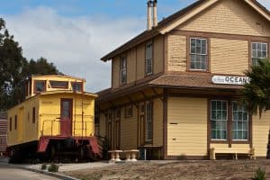 Oceano Train Depot, Oceano California, Oceano beaches, things to do in Oceano, restaurants in Oceano, bars in Oceano, California beaches, Central California beaches