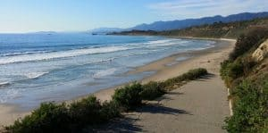 Rincon Beach Park, Carpinteria California, Carpinteria beaches, California beaches, things to do in Carpinteria, best restaurants in Carpinteria, best bars in Carpinteria, California's best beaches, beach travel destinations, Carpinteria travel guide, beach camping in California