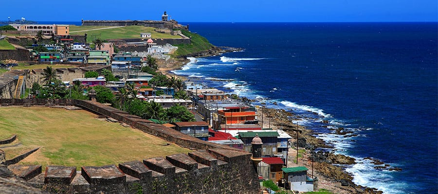 San Juan Puerto Rico, all about cruises, best cruise deals, best priced cruises, cruise vacation, Eastern Caribbean Cruise Itinerary, last minute cruises