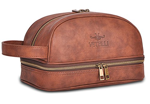 Vetelli Leather Toiletry Bag For Men, cruise travel essentials, all about cruises, best cruise deals, best priced cruises, cruise vacation, last minute cruises.