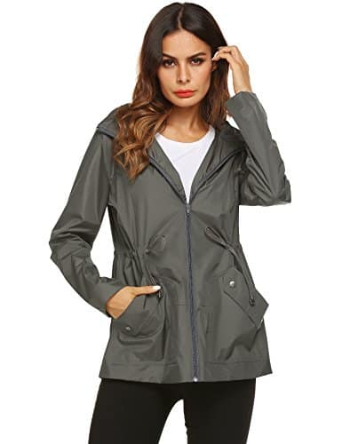 zhenwei Rain Jacket Women Waterproof with Hood Windbreaker , cruise travel essentials, all about cruises, best cruise deals, best priced cruises, cruise vacation, last minute cruises.