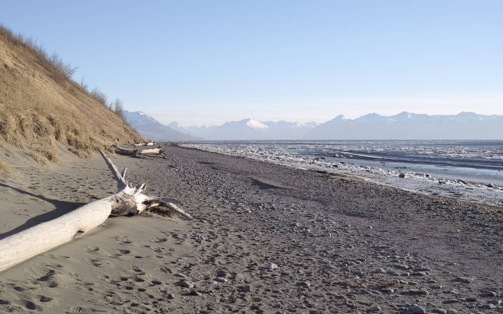 Kincaid Beach, Anchorage, Best Alaska Beaches, Alaska beaches, best beaches in Alaska