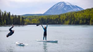 Adventure Guru Stand Up Paddleboarding, Kenai Alaska, Alaska Beaches, things to do in Kenai, best hotels in Kenai, best restaurants in Kenai, Kenai Alaska Travel Guide