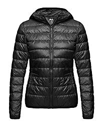 Wantdo Women's Hooded Packable Ultra Light Weight Short Down Jacket, What to take on an Alaska Vacation