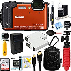 Nikon COOLPIX W300 16MP 4k Ultra HD Waterproof Digital Camera, What to take on an Alaska Vacation