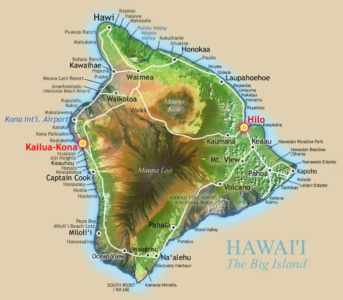 Big Island Beaches: Big Island Hawaii Vacations