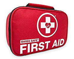 Swiss Safe 2-in-1 First Aid Kit, beach travel essentials, what to pack for a beach vacation, beach travel packing list, beach travel