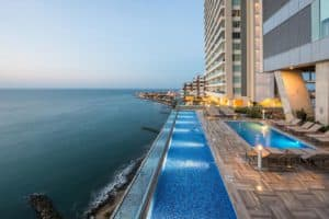 Hyatt Regency Cartagena Colombia, Best Christmas vacation destinations, best Christmas beach destinations, best sunny vacations for Christmas, best Cartagena hotels