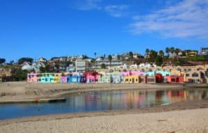 Capitola Beach, Capitola, a seaside community on the north shore of Monterey Bay, claims to be California's oldest beach resort.