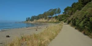 New Brighton State Beach, Capitola, a seaside community on the north shore of Monterey Bay, claims to be California's oldest beach resort.